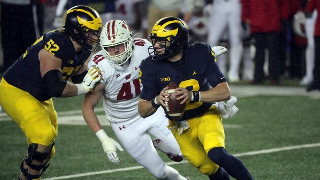 Michigan QB spot open to competition this week