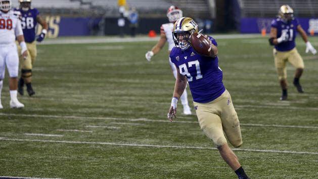Otton's TD Catch Caps Washington's Comeback Win