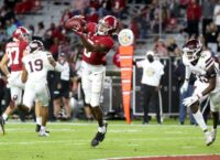 Alabama's Smith sets SEC touchdown catches mark