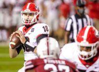 Georgia Dominates Outmanned South Carolina 45-16