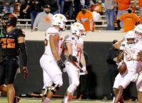 Moore's Only Catch Wins in Overtime for Texas