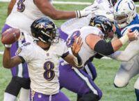 Rush offenses collide as Titans host Ravens