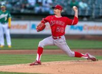 Hot pitchers highlight Giants-Angels series opener