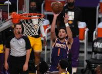 Paul, Booker aim to keep rolling against Nuggets