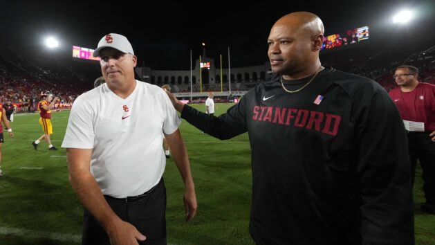 Southern California fires Clay Helton