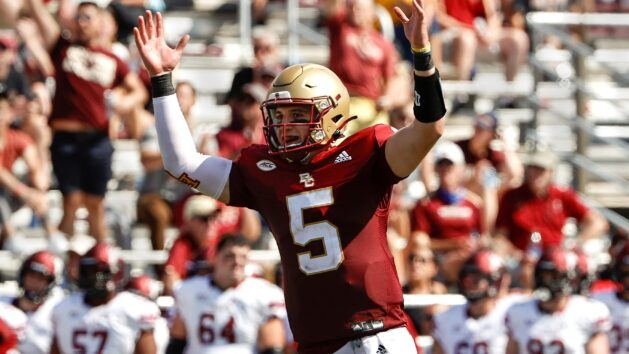 Boston College QB Jurkovec out after hand surgery