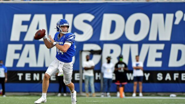 Young QB Henigan readies Memphis for Miss. State
