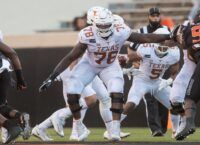 Texas OL Okafor to have season-ending surgery